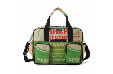 College Bag groen