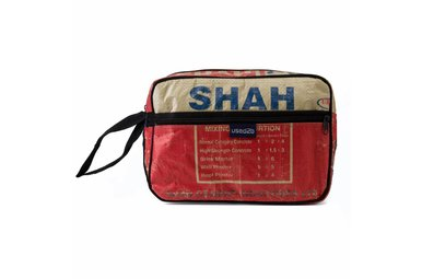Toiletry bag Shah red