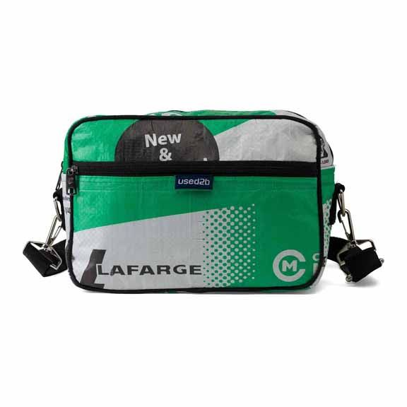 Used2b Messenger cement bags Lafarge - Copy