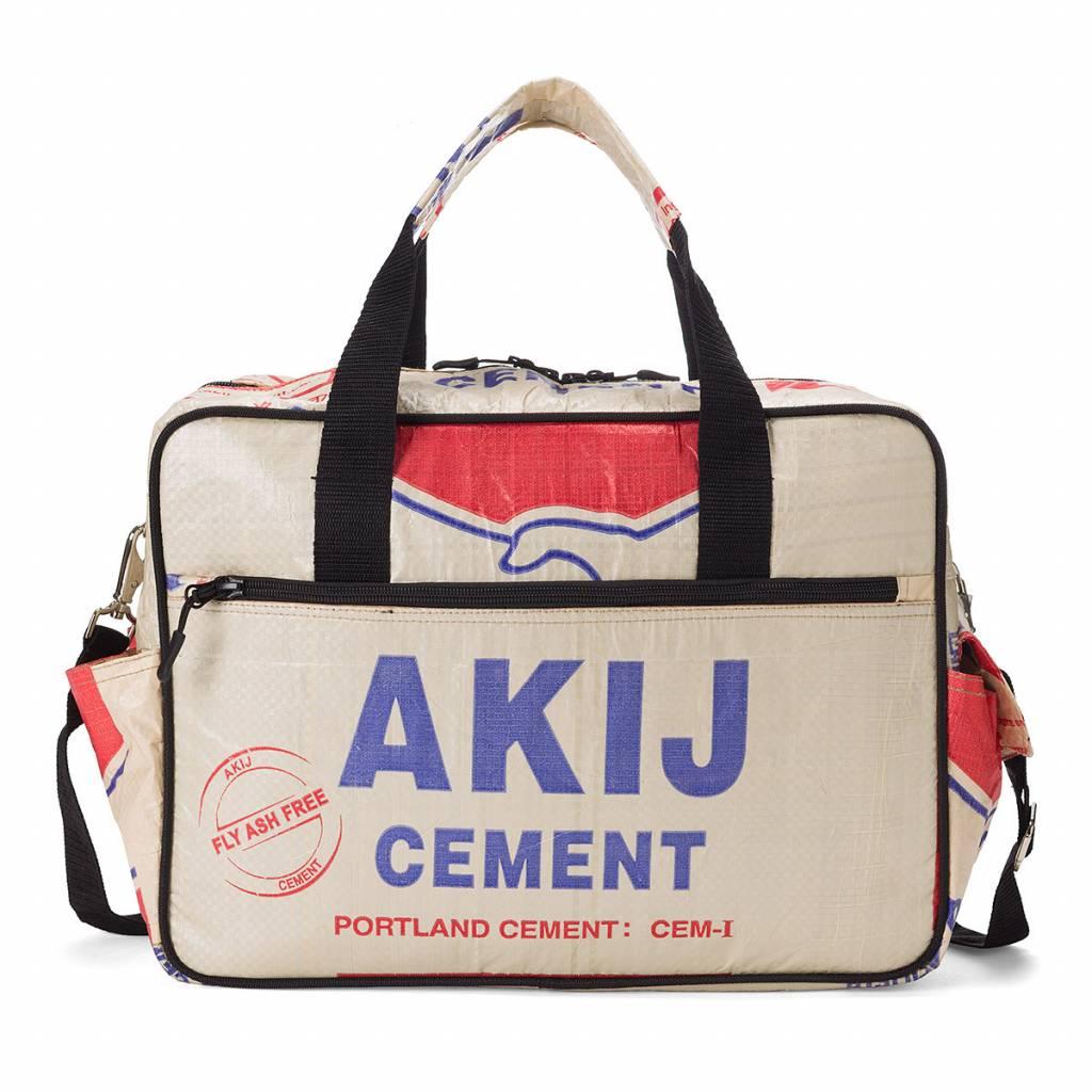 Used2b Stoere luiertas upcycled cementzakken Akij