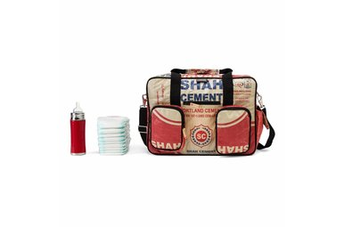 Diaper bag Shah red