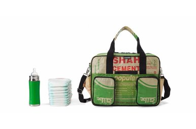Diaper bag Shah green
