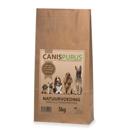 CanisPurus Chicken 30% / 6.5% Herring 5kg. Natural cold pressed food for your dog.