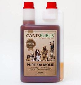 CanisPurus Pure zalmolie - Voedingssuplement voor alle hondenrassen, dat Omega-3 en 6 vetzuren bevat voor een gezonde huid en glanzende vacht.