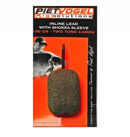 Piet Vogel Inline Lead with Shokka Sleeve 80/100gr.