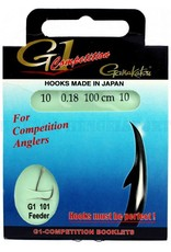 Gamakatsu Gamakatsu  G1 101 Hakenboekje - 100cm