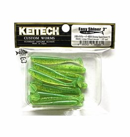 Keitech Keitech Easy Shiner 2 - Lime Chartreuse - 12 stuks