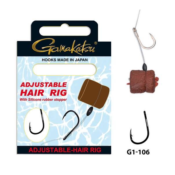 Gamakatsu Gamakatsu - Adjustable hair rig / onderlijn  12cm