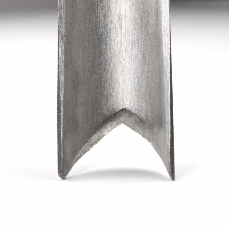 Couteau étroit modèle V