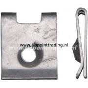 Speednut 4,8 mm verzinkt mat bmw merc (50 stuks)