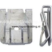 Speednut  4,8 mm mkb silver MERC (50 stuks)
