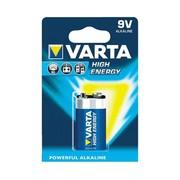 Alkaline 9 V 4922 high energy Varta