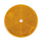 Reflector 60 mm schroef oranje