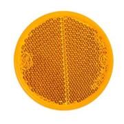 Reflector 60 mm plak oranje
