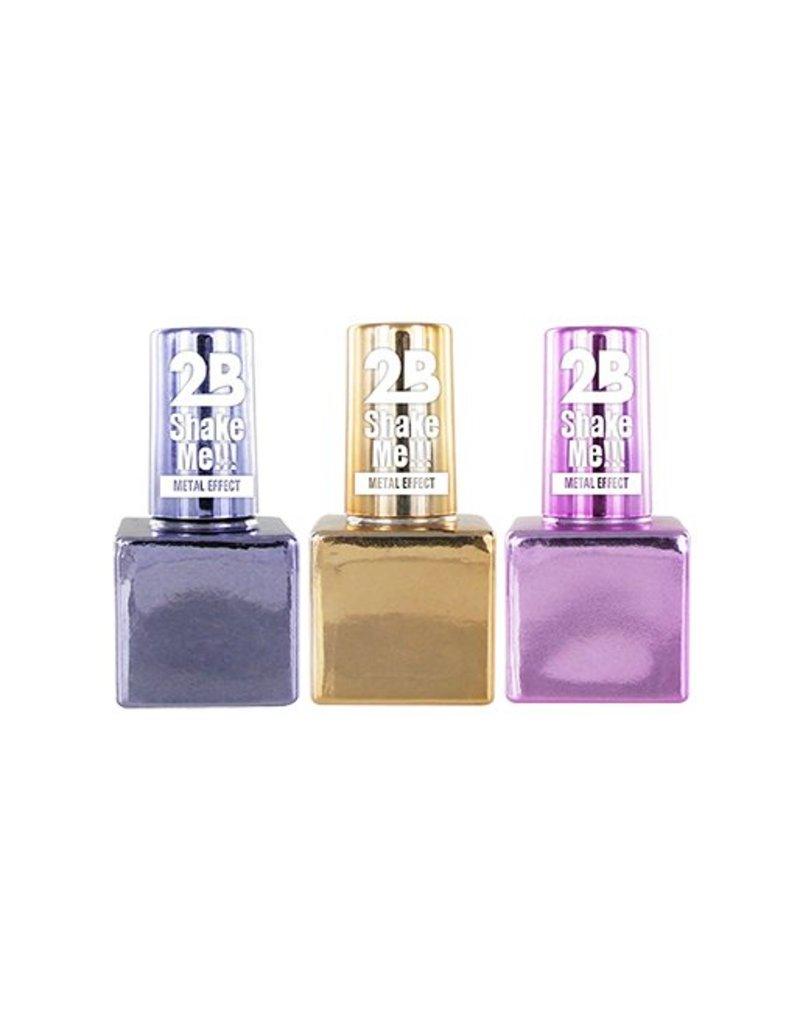 2B Cosmetics Set Vernis à Ongles Chromé