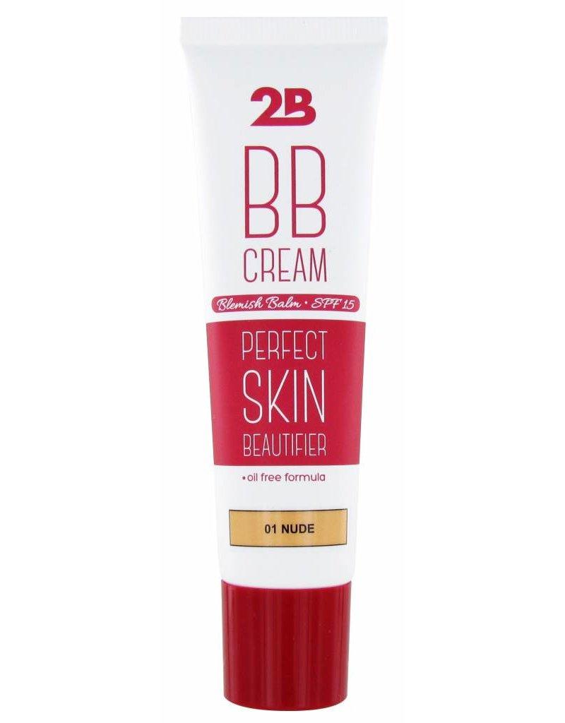 2B Cosmetics BB Cream - 01 Nude