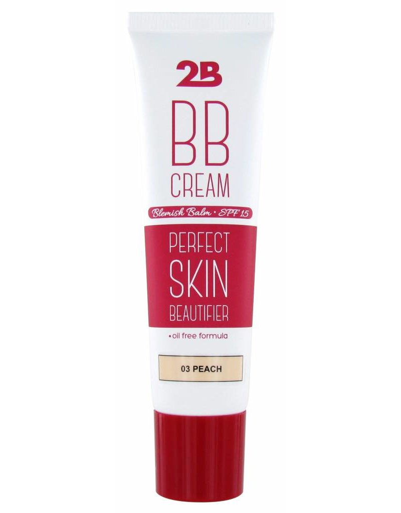 2B Cosmetics BB Cream - 03 Peach