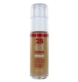 2B Cosmetics Nude Foundation aux extraits de litchi- 1 Sand