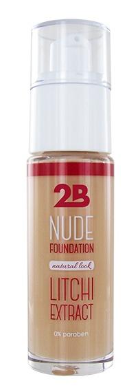 2B Cosmetics Nude Foundation aux extraits de litchi - 2 Peach
