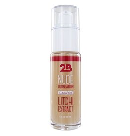 2B Cosmetics Nude Foundation with Lychee extract - 1 Sand
