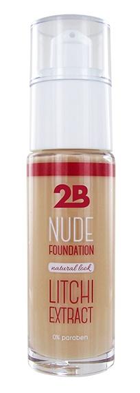 2B Cosmetics Nude Foundation aux extraits de litchi - 1 Sand