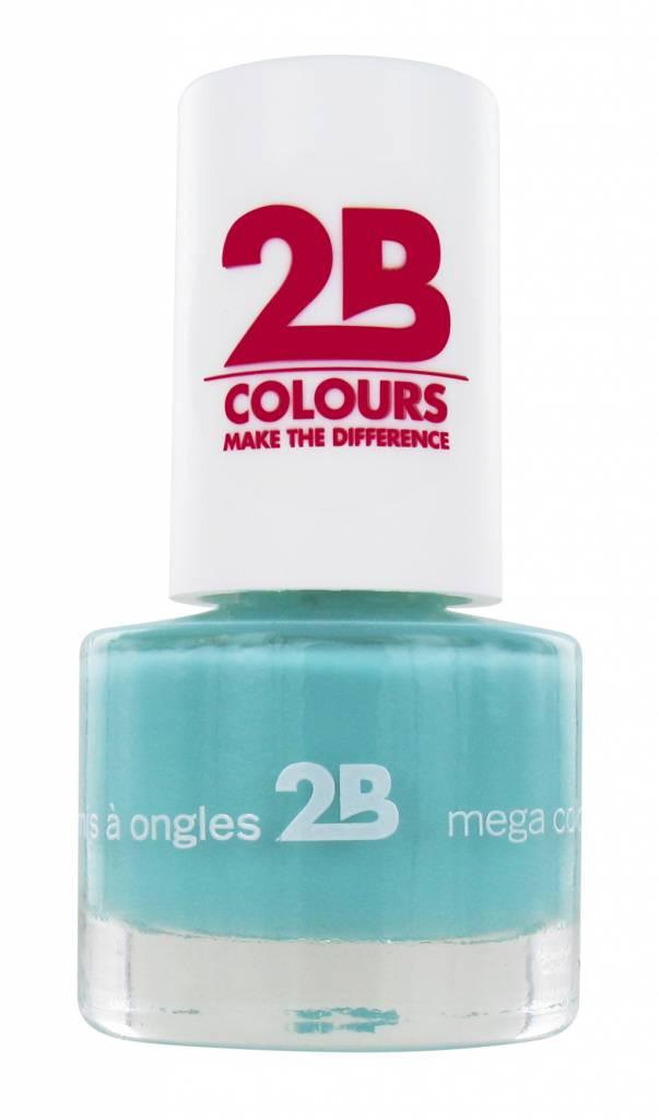 2B Cosmetics NAIL POLISH MEGA COLOURS MINI - 23 Pacific opal