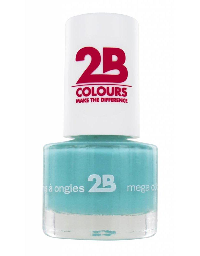 2B Cosmetics NAGELLAK MEGA COLOURS MINI - 23 Pacific opal