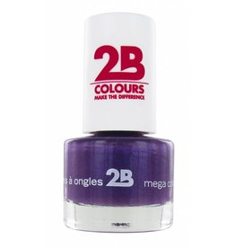 2B Cosmetics NAGELLAK MEGA COLOURS MINI - 22 Rich Lavender