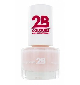 2B Cosmetics VERNIS à ONGLES MEGA COLOURS MINI - 3 Adorable Pink