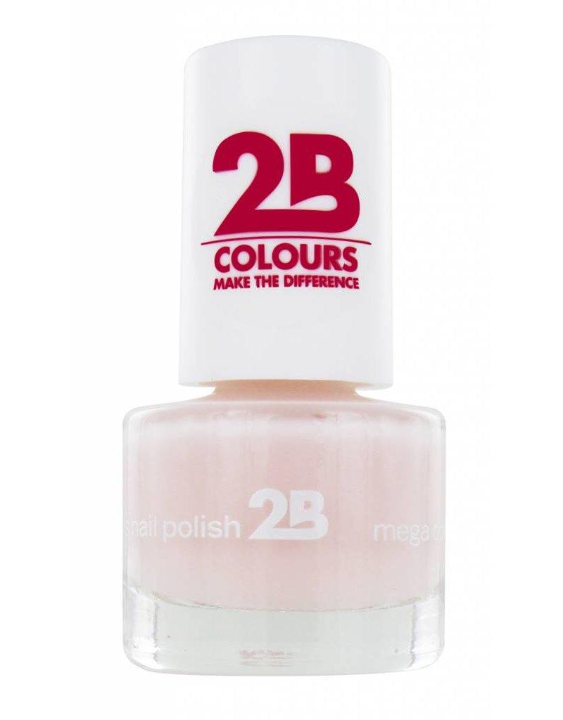 2B Cosmetics NAIL POLISH MEGA COLOURS MINI - 3 Adorable Pink