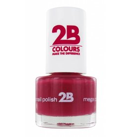 2B Cosmetics NAGELLAK MEGA COLOURS MINI - 13 Rubine Red