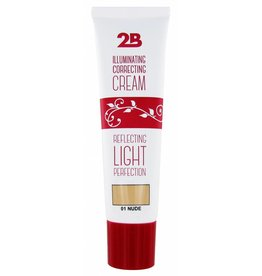 2B Cosmetics Illuminating Correcting Cream - 01 nude