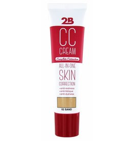 2B Cosmetics CC CREAM - 02 SAND