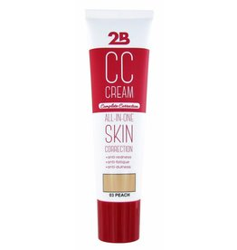 2B Cosmetics CC CREAM - 03 PEACH