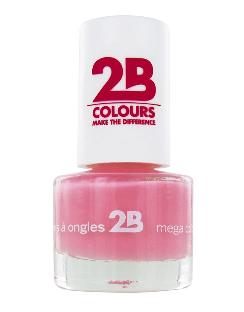 2B Cosmetics NAGELLAK MEGA COLOURS MINI - 4 Candy Pink