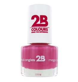 2B Cosmetics NAGELLAK MEGA COLOURS MINI - 7 Frosted Pink