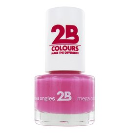 2B Cosmetics VERNIS à ONGLES MEGA COLOURS MINI - 8 Crazy 4 Pink