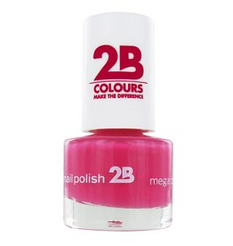 2B Cosmetics NAGELLAK MEGA COLOURS MINI - 10 Raspberry Passion