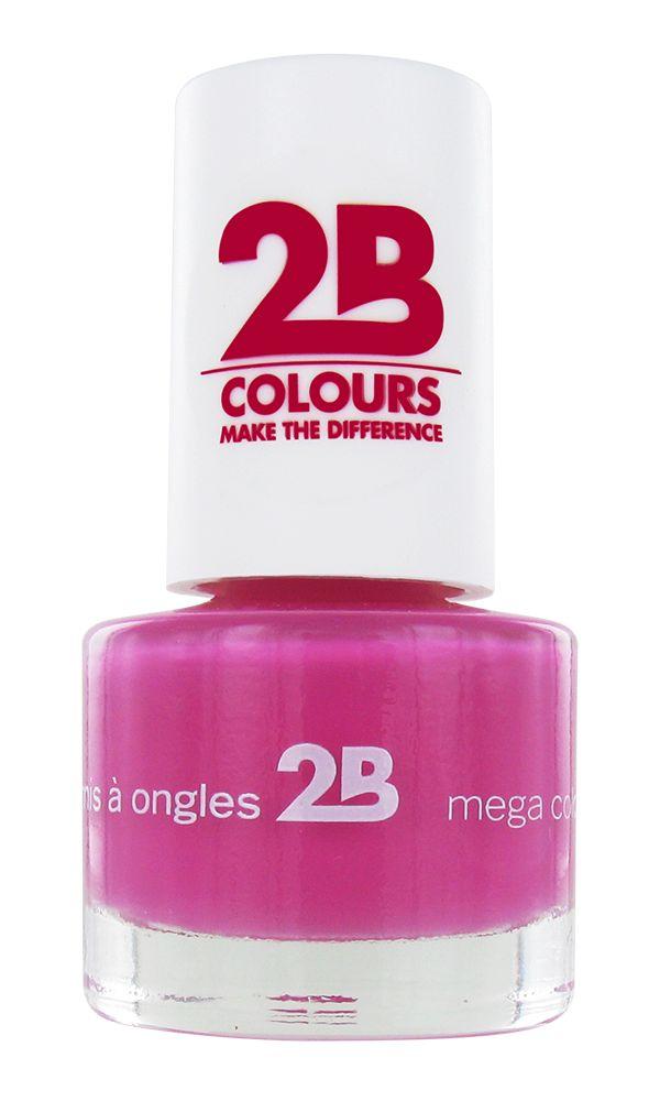 2B Cosmetics NAIL POLISH MEGA COLOURS MINI - 11 Just Amazing
