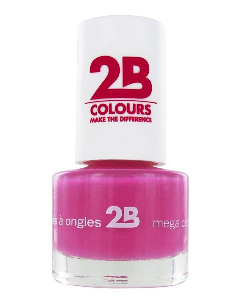 2B Cosmetics VERNIS à ONGLES MEGA COLOURS MINI - 11 Just Amazing