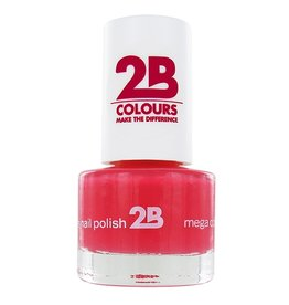 2B Cosmetics NAIL POLISH MEGA COLOURS MINI - 12 American Rose