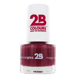 2B Cosmetics NAGELLAK MEGA COLOURS MINI - 14 Burgundy Velvet