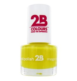 2B Cosmetics VERNIS à ONGLES MEGA COLOURS MINI - 15 Yellow Sun
