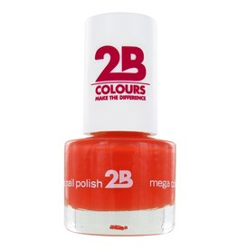 2B Cosmetics NAIL POLISH MEGA COLOURS MINI - 17 Crazy Orange