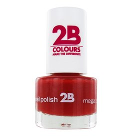 2B Cosmetics NAGELLAK MEGA COLOURS MINI - 20 Deep Ruby Red