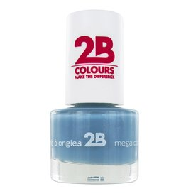 2B Cosmetics NAIL POLISH MEGA COLOURS MINI - 28 Ocean Blue Wave