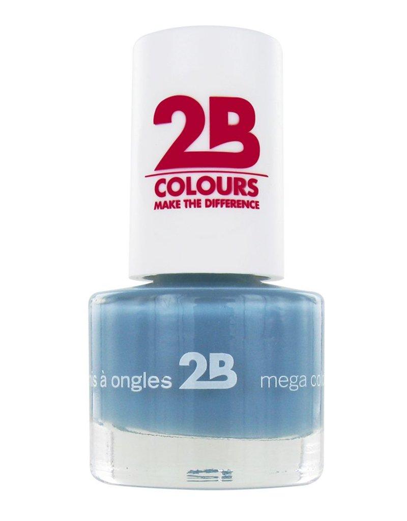 2B Cosmetics VERNIS à ONGLES MEGA COLOURS MINI - 28 Ocean Blue Wave