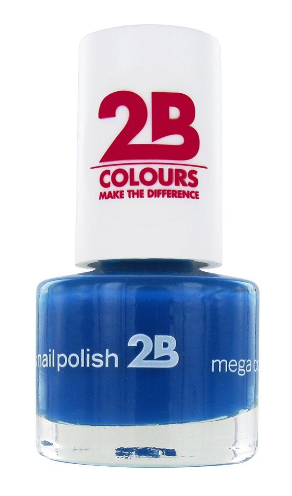 2B Cosmetics NAIL POLISH MEGA COLOURS MINI - 30 Aloha Waves