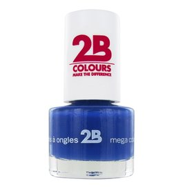2B Cosmetics NAIL POLISH MEGA COLOURS MINI - 31 Lapis Lazuli