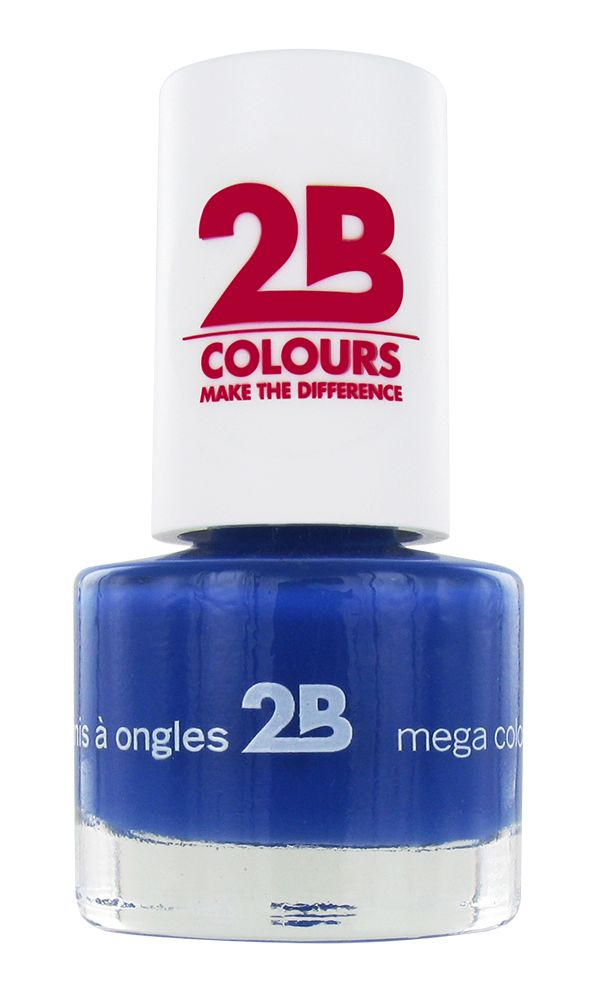 2B Cosmetics VERNIS à ONGLES MEGA COLOURS MINI - 31 Lapis Lazuli